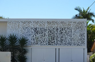 laser cut decorative screen