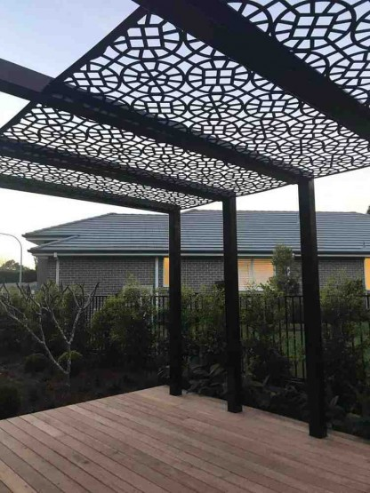 Athelstan Pergola Screens 1