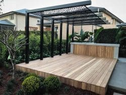 Athelstan Pergola Screens