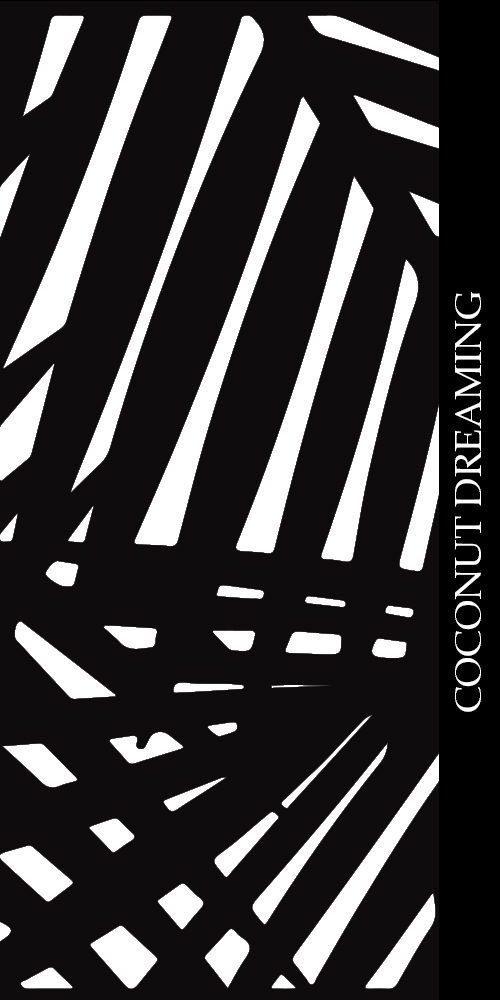 Coconut Dreaming Decorative Screen