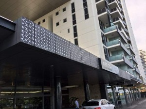 Lace Circles Meriton Decorative Screen Facade 5