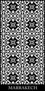 Marrakech Decorative Screen Pattern