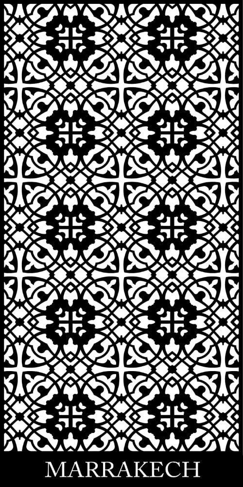 Marrakech Decorative Screen Pattern