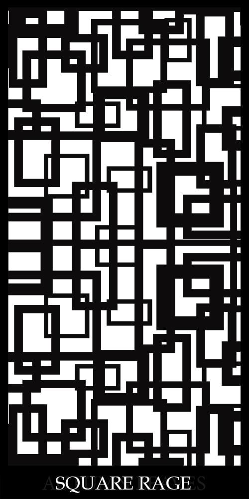 Square Rage Decorative Screens Direct