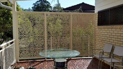 Sunfire Laser Cut Decorative Screens