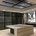 The Vlahos Laser Cut Screen Shop Fitout