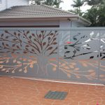 Tree Of Life Laser Cut Decorative Gate