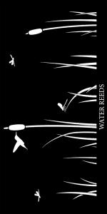 Water Reeds Decorative Lasercut Panels