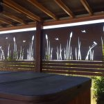 Water Reeds Laser Cut Corten 1
