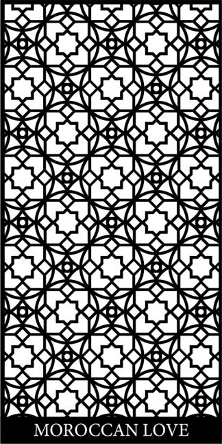 Moroccan Love Decorative Screen
