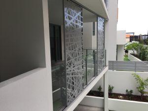 Birds Nest Laser Cut Building Facade 6