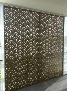 Custom Design Gradient Laser Cut Screen