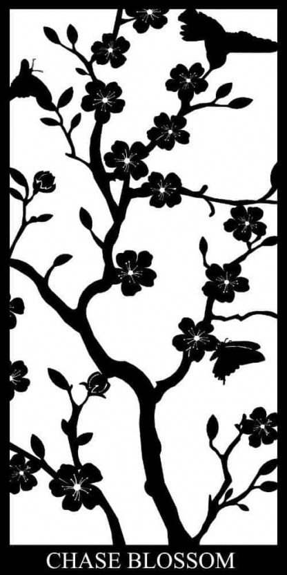 Chase Blossom Decorative Screens