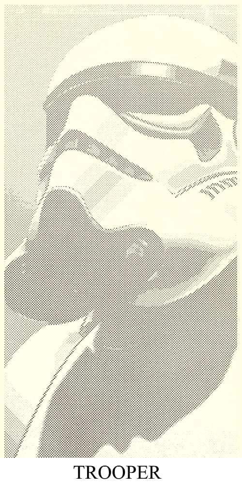 Trooper Punched Screen Design