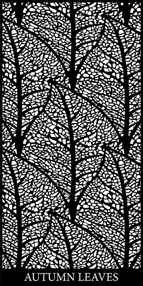 Autumn Leaves Decorative Screen