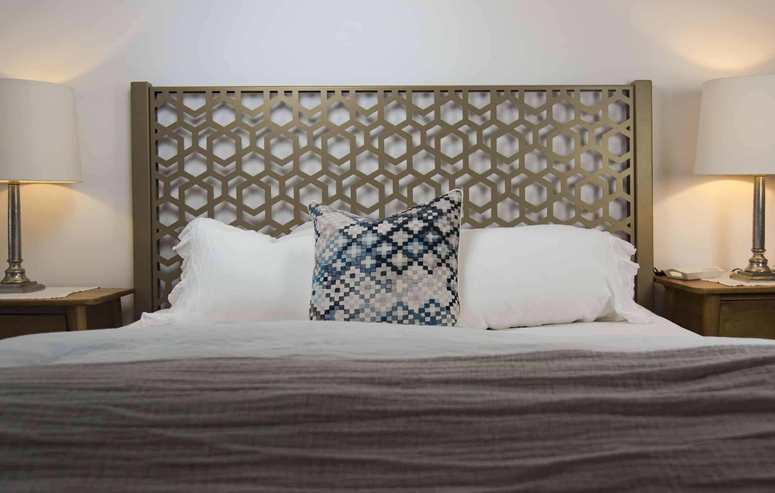 Single Laser Cut Bed Heads Decorative Screens Direct