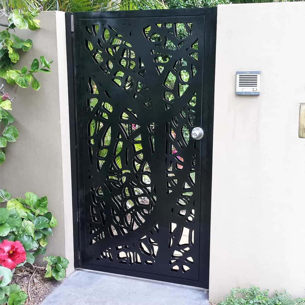 Vines Double Sided Security Screen