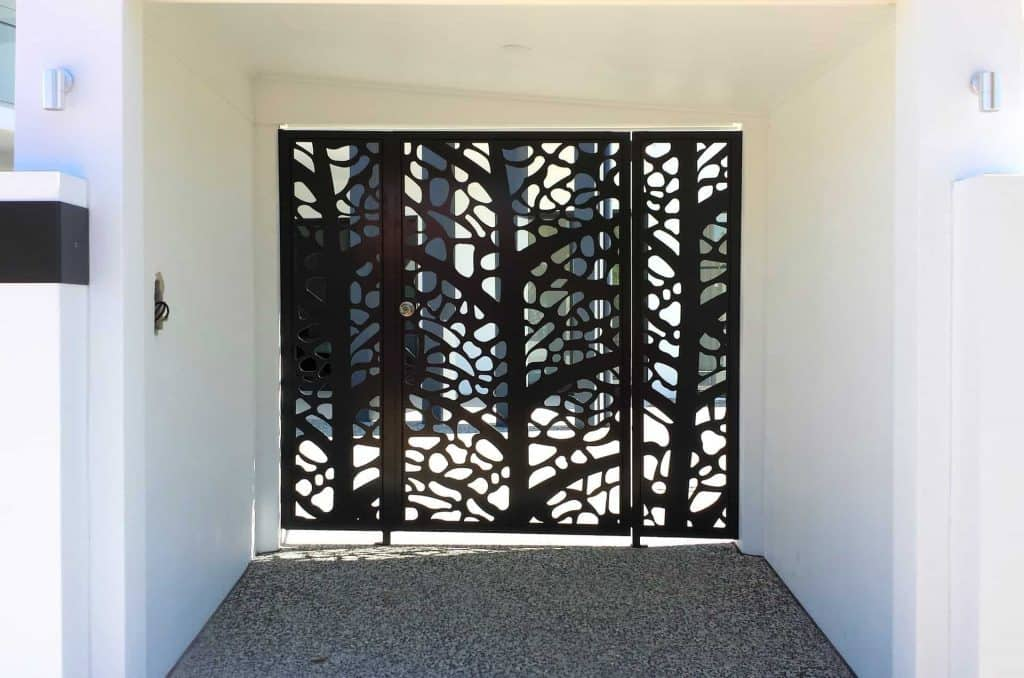 Leaf Skeleton Decorative Entry Gates