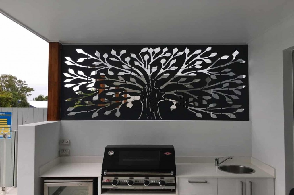 Tree of Life Privacy Screen