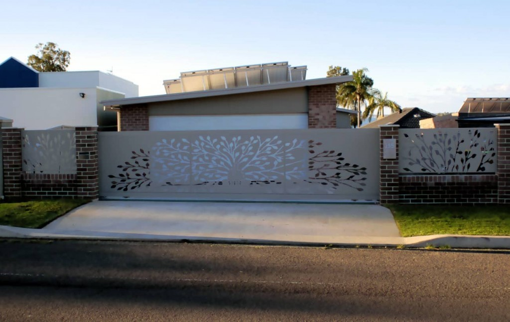 Tree Of Life Decorative Gate & Fence Infills - After