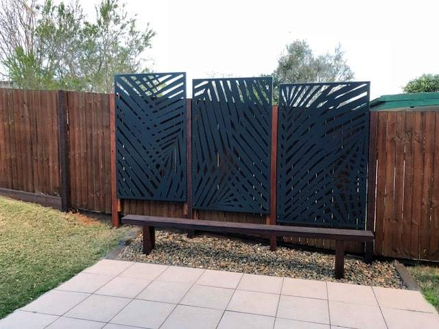 Lombok Laser Cut Garden Screens