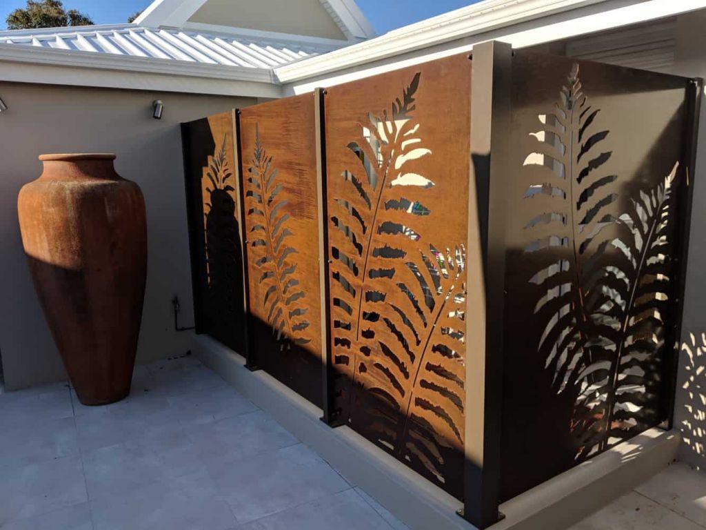 Corten Fence Infill Panels