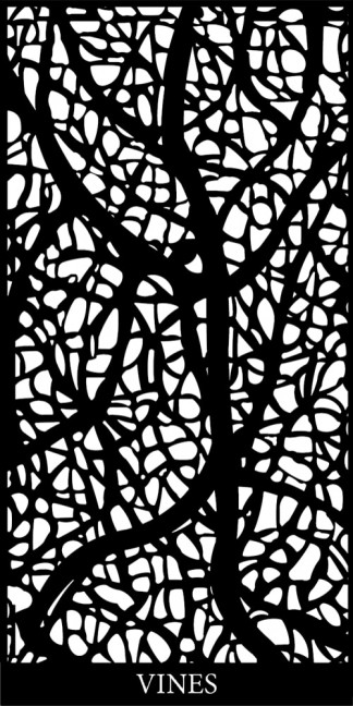 Vines Decorative Screen Design