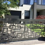 Square Rage Decorative Gate