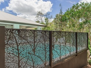 Autumn Leaves Perf Pool Fencing 6