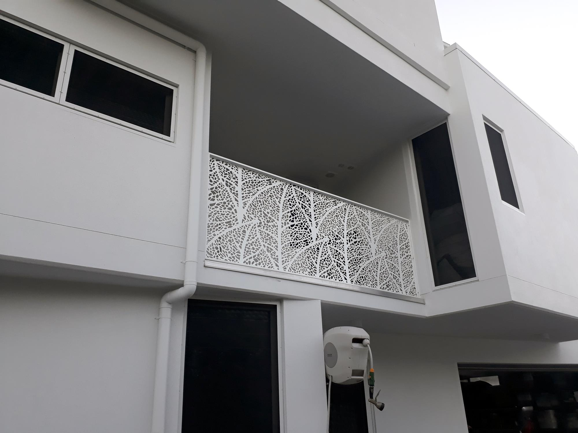 Commercial Laser Cut Decorative Screen Projects