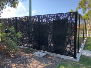 Vines Perforated Decorative Fence Panels 8