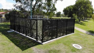 Vines Perforated Decorative Fence Panels 9