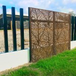 Autumn Leaves Corten Screens 3