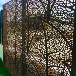Autumn Leaves Corten Screens 4