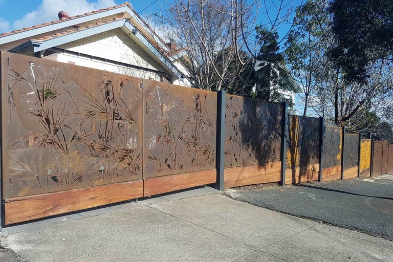Corten Steel Decorative Screens 4