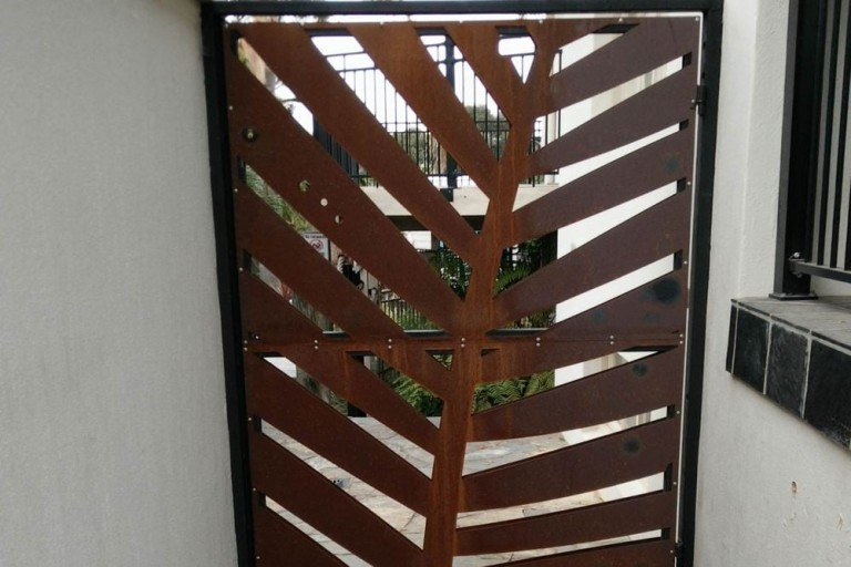 Corten Steel Decorative Screens 6